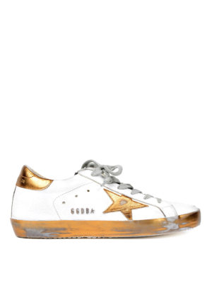 Golden Goose: trainers - Superstar sparkling sneakers