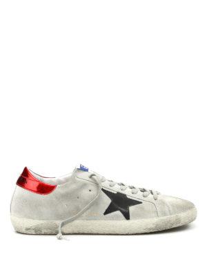 Golden Goose: trainers - Superstar suede sneakers