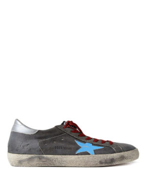 Golden Goose: trainers - Superstar suede sneakers