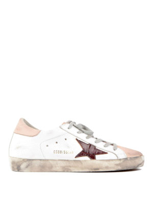 Golden Goose: trainers - Superstar two-tone sneakers
