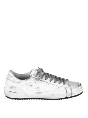 Golden Goose: trainers - Superstar used leather sneakers