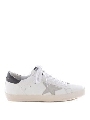 Golden Goose: trainers - Superstar white leather sneakers