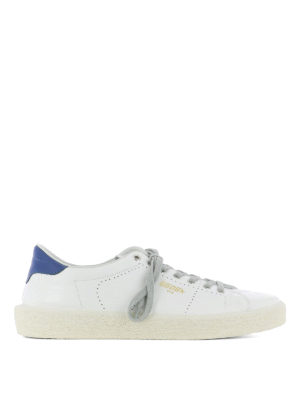 GOLDEN GOOSE: sneakers - Sneaker Tennis in pelle liscia