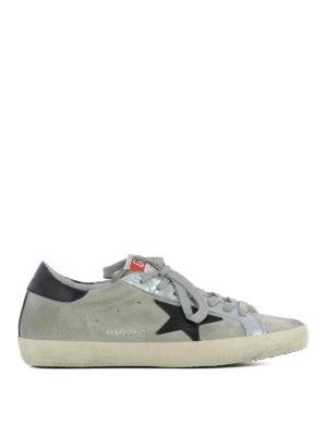 Golden Goose: trainers - Three-tone Superstar sneakers