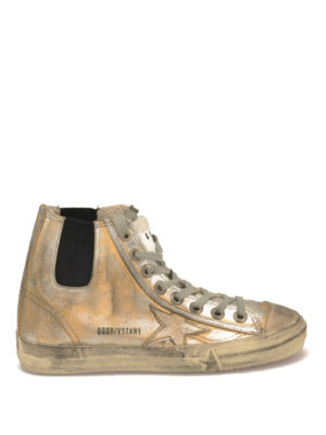 Golden Goose: trainers - V-Star 1 coated canvas sneakers