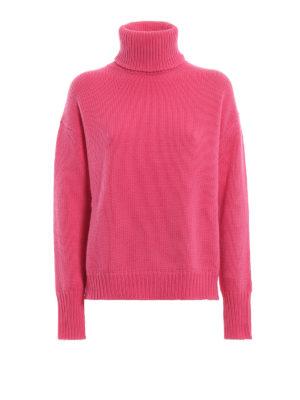 GOLDEN GOOSE: maglia a collo alto e polo - Caldo dolcevita in lana con spacchi laterali