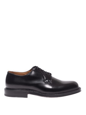 Green George: classiche - Derby in pelle lucida nera