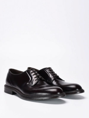 Green George: classic shoes online - Polished leather lace-ups
