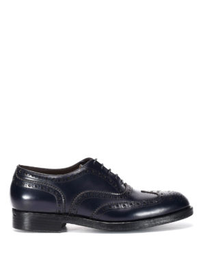 Green George: lace-ups shoes - Brogue lace-up shoes