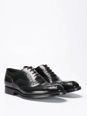 Green George: lace-ups shoes online - Brogue lace-up shoes