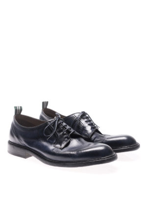Green George: lace-ups shoes online - Maremma vintage look lace-ups