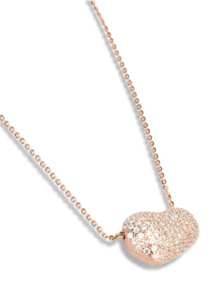 Gregio: Necklaces & Chokers online - Zirconia detailed necklace