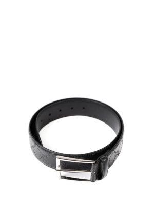 Gucci: belts online - Guccissima leather belt