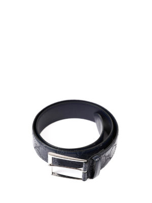 Gucci: belts online - Guccissima leather belt