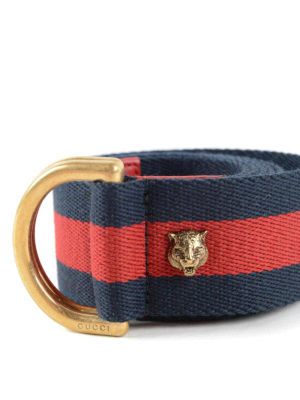 Gucci: belts online - Web belt