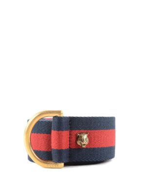 Gucci: belts - Web belt