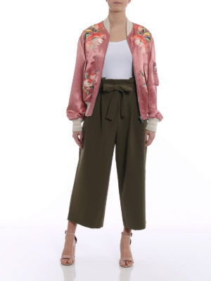 Gucci: bombers online - Guccification satin bomber jacket
