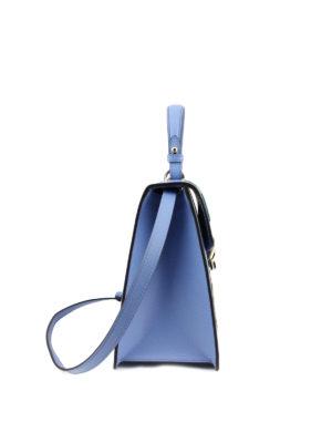 Gucci: bowling bags online - Flower appliques leather bag