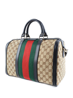 Gucci: bowling bags online - Web detail GG canvas bowling bag