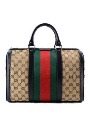 Gucci: bowling bags - Web detail GG canvas bowling bag
