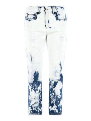 Gucci: Boyfriend - Hand-bleached boyfriend jeans