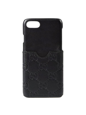 Gucci: Cases & Covers - GG leather cover