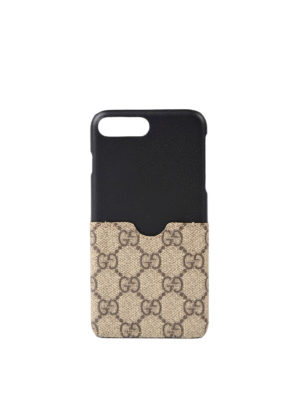 Gucci: Cases & Covers - iPhone 7 GG Supreme cover