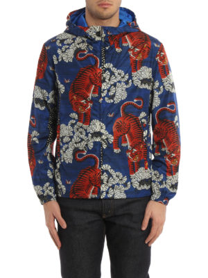 Gucci: casual jackets online - Bengal print windbreaker