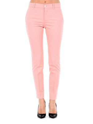 Gucci: casual trousers online - Stretch cotton slim trousers