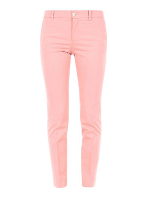 Gucci: casual trousers - Stretch cotton slim trousers