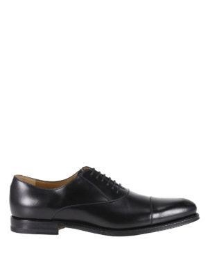 Gucci: classic shoes - Leather Oxford shoes