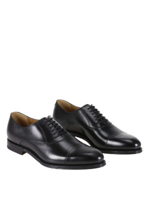 Gucci: classic shoes online - Leather Oxford shoes
