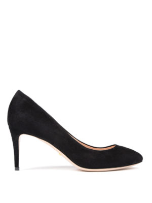 Gucci: court shoes - Mid stiletto heel suede pumps