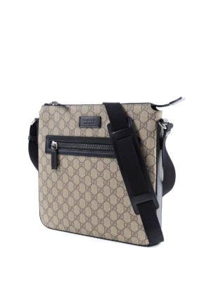 Gucci: cross body bags online - GG Supreme crossbody