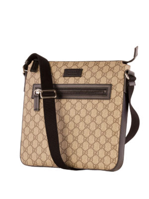 Gucci: cross body bags online - GG Supreme messenger bag