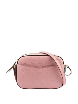 Gucci: cross body bags online - Signature leather crossbody bag