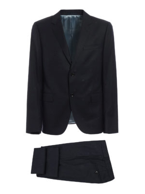 Gucci: formal suits - Monaco bee detailed wool suit