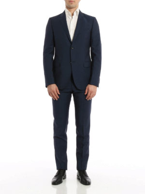 Gucci: formal suits online - Wool and mohair blend suit