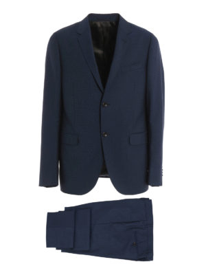 Gucci: formal suits - Wool and mohair blend suit