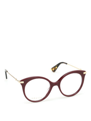Gucci: glasses - Acetate eye cat glasses