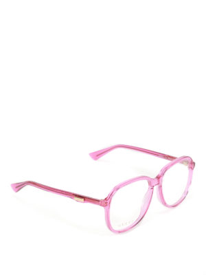Gucci: glasses - Fuchsia optical glasses