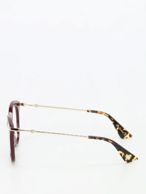 Gucci: glasses online - Acetate eye cat glasses