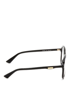 Gucci: glasses online - Black acetate frame eyeglasses
