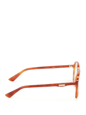 Gucci: glasses online - Shaded brown optical glasses