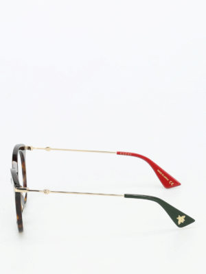 Gucci: glasses online - Tortoise eye cat optical glasses