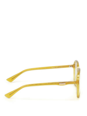 Gucci: glasses online - Yellow optical glasses
