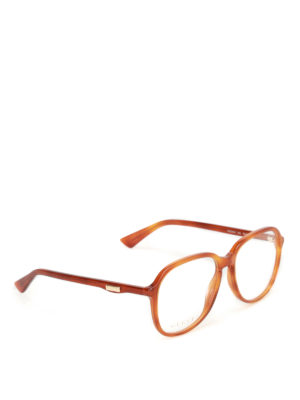 Gucci: glasses - Shaded brown optical glasses