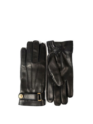 Gucci: gloves - Soft leather gloves with strap