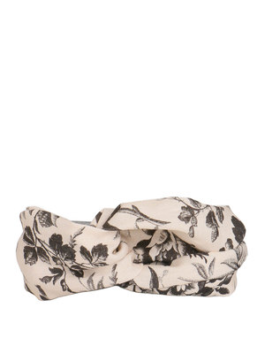 Gucci: hair accessories - Herbarium print headband