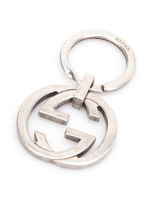 Gucci: key holders - GG keyring